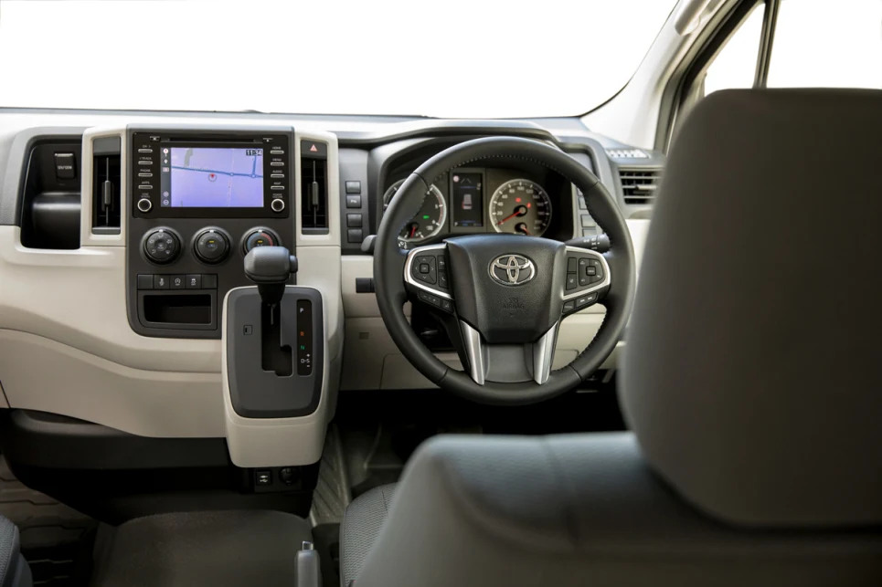 Utilities on the Toyota Hiace 2019