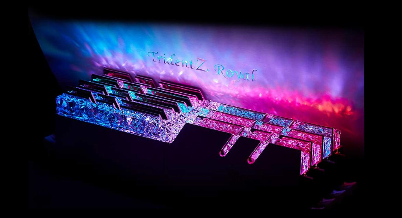 G.SKILL Trident Z Royal Series Lighting Control show