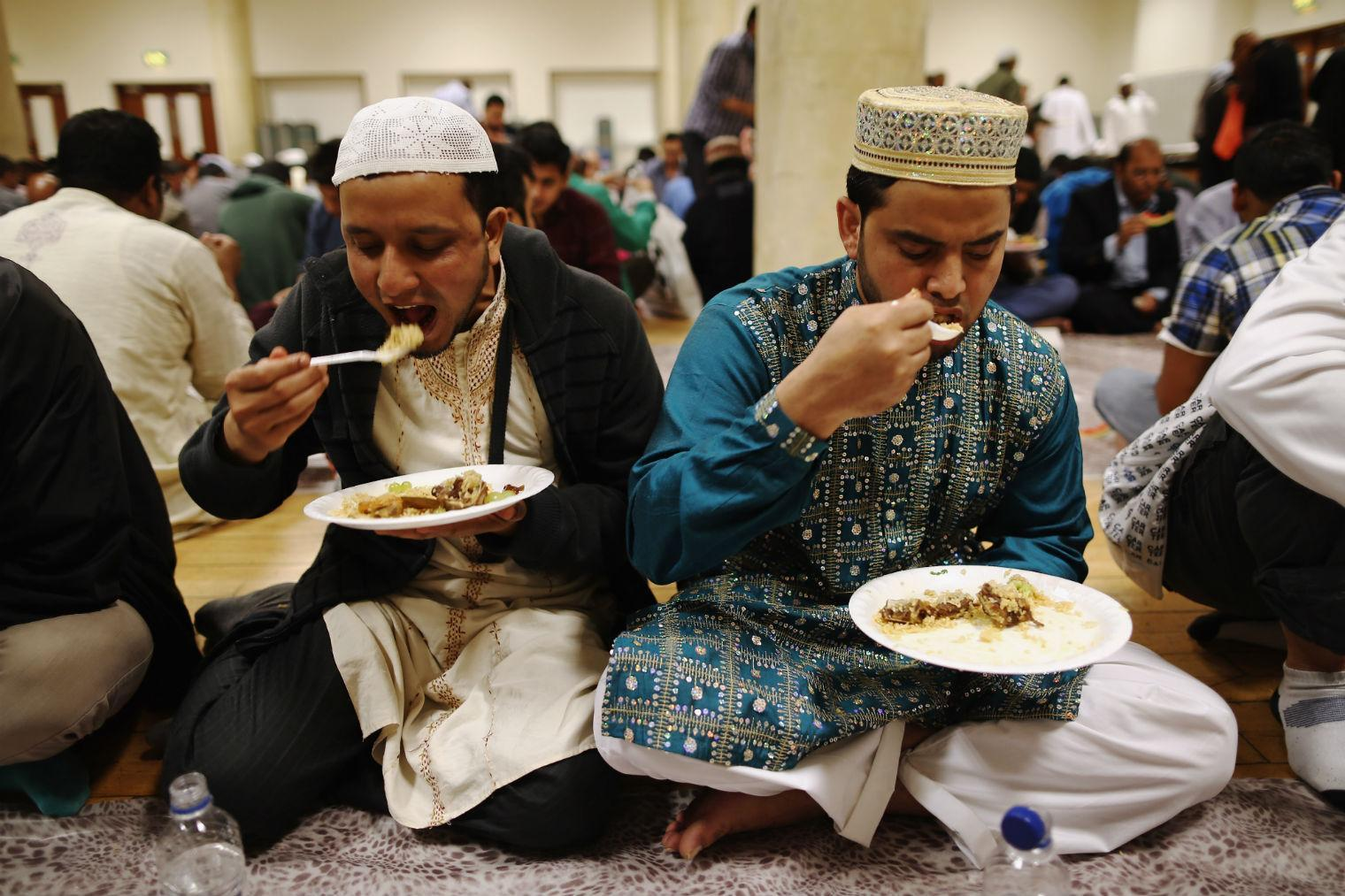 Image result for iftar and mosque