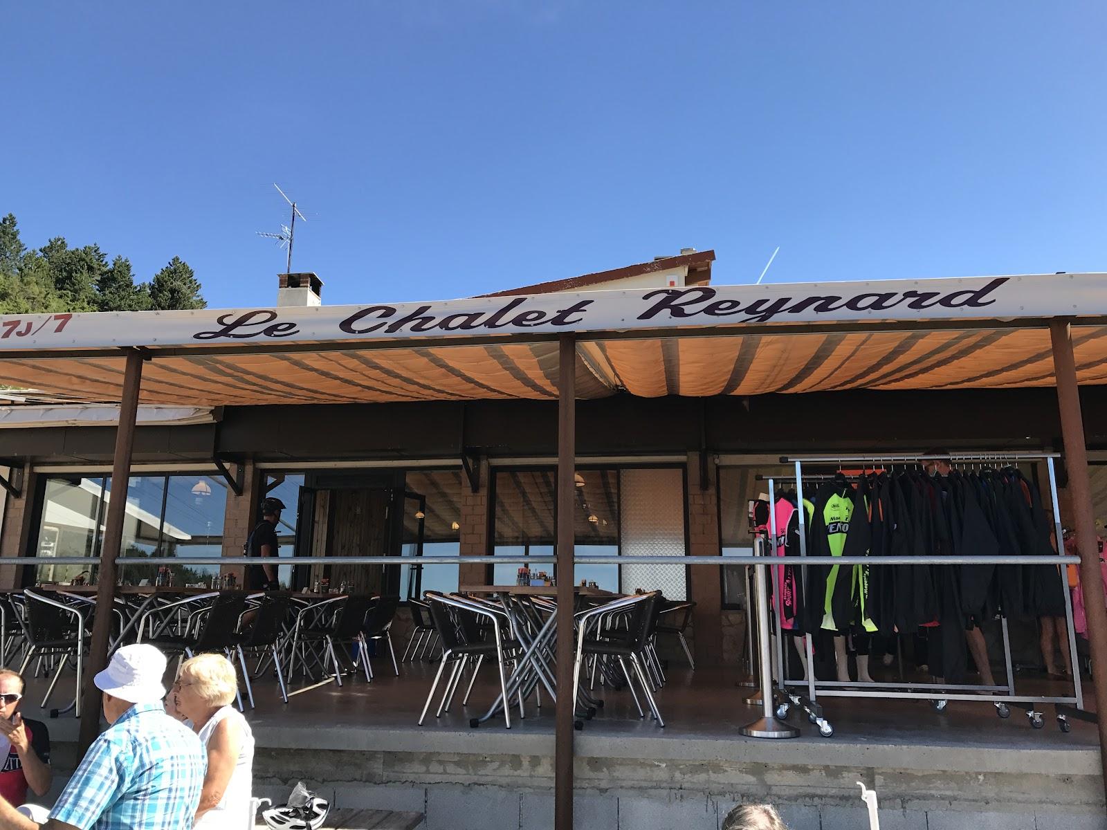 Bike climb of Mount Ventoux - Le Chalet Reynard