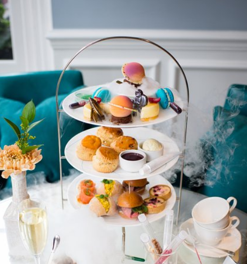 The Ampersand Hotel Science Afternoon Tea gogoenglish遊學