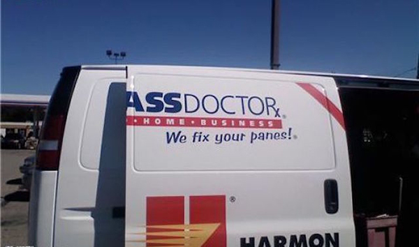 ass doctor van ad fail