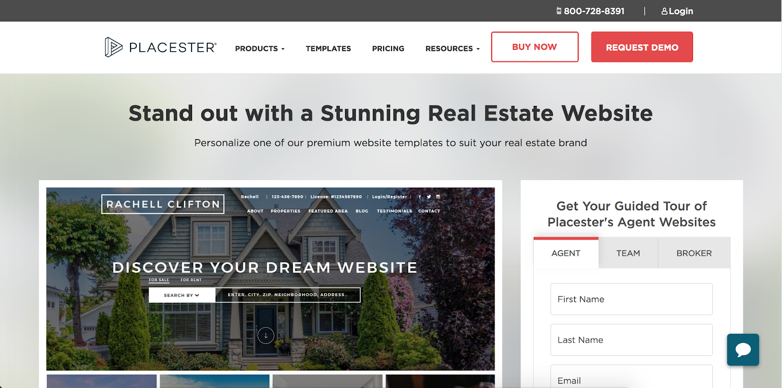 Placester Real Estate Website Builder | Real Estate Marketing Tools