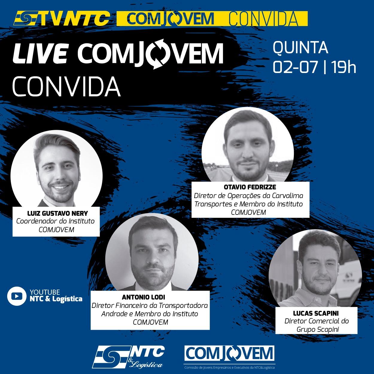 TV NTC apresenta hoje a décima primeira edição da 'COMJOVEM Convida'