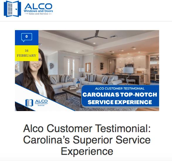 Alco Case Study Carolina