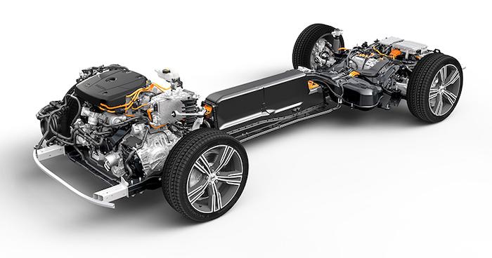 ขุมพลัง  T8 TWIN ENGINE PLUG-IN HYBRID เบนซินความจุ 2.0 ลิตร