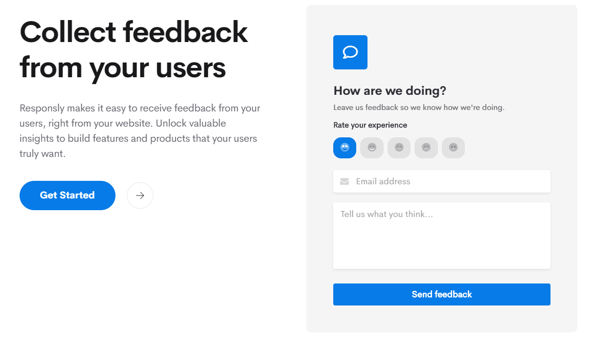 Responsly customer feedback