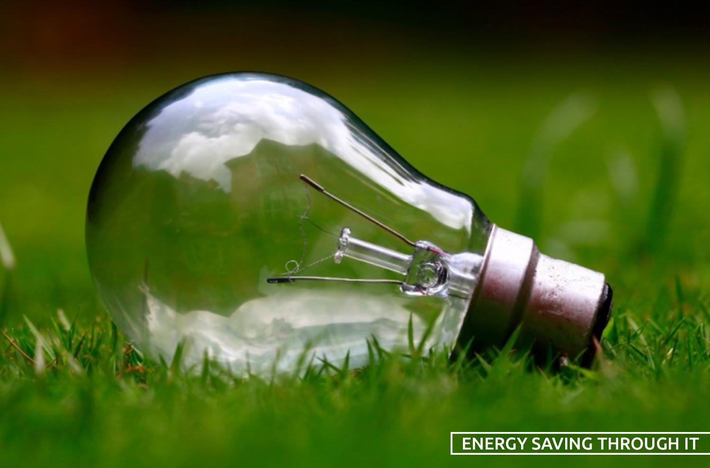 energy saving through IT