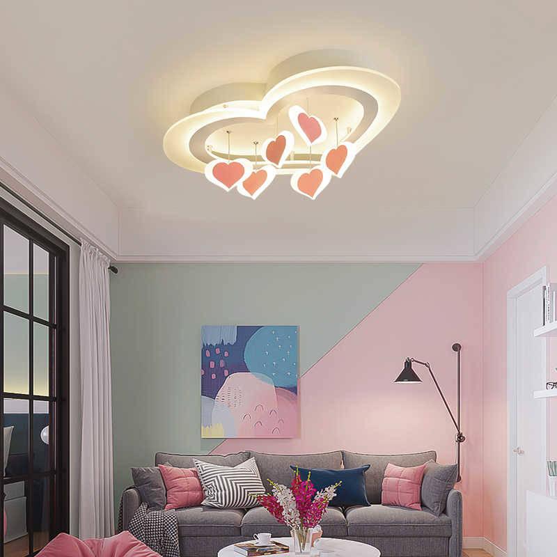 Đèn trang trí trần nhà trái tim