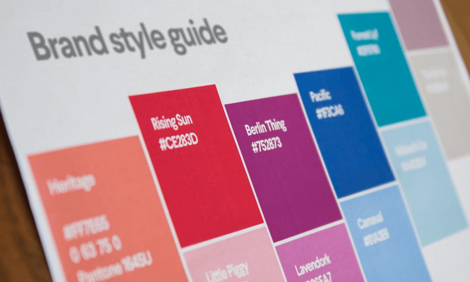 palette couleur charte graphique