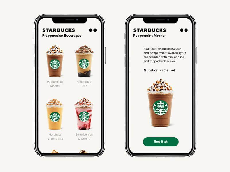 Starbucks tạo nên ứng dụng trên điện thoại di động