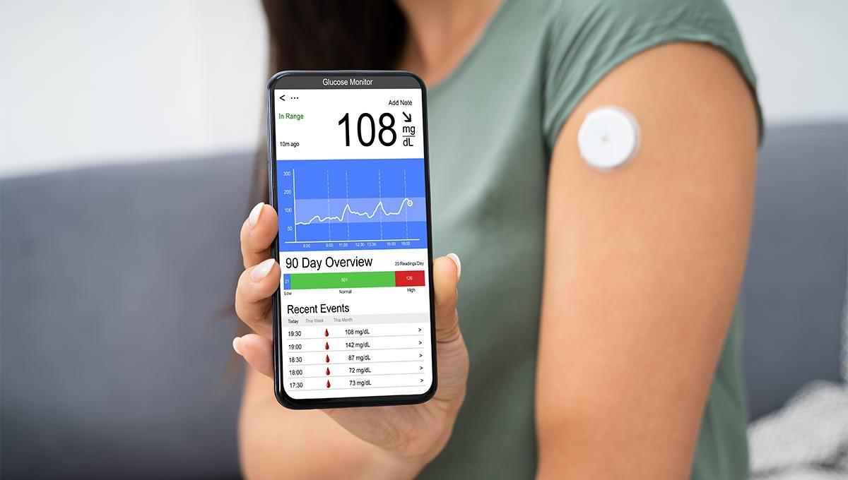 DMP bei Diabetes Typ 2 bedeutet zum Beispiel die Kontrolle der Blutzuckerentwicklung per App.
