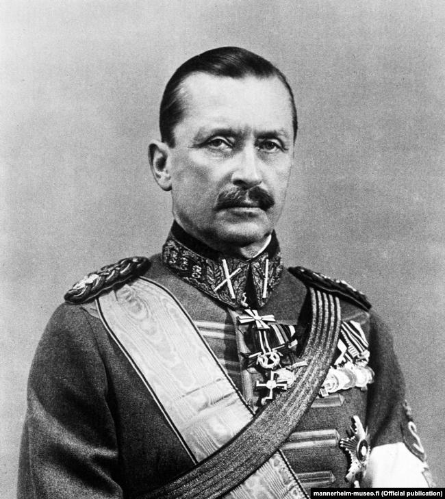 Карл Густав Маннергейм (1867–1951) – державний і військовий діяч Фінляндії