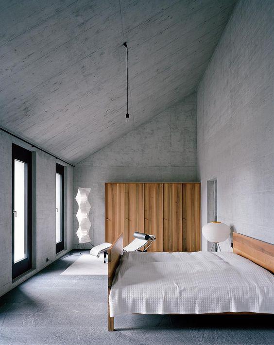 Modern Art Shown Via Concrete Flooring