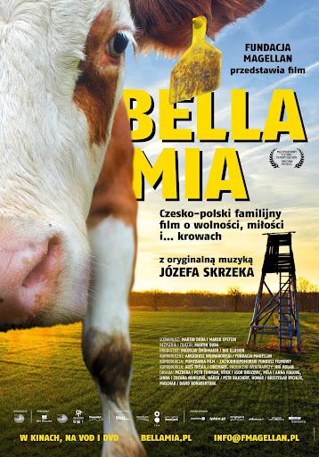 Polski plakat filmu 'Bella Mia'