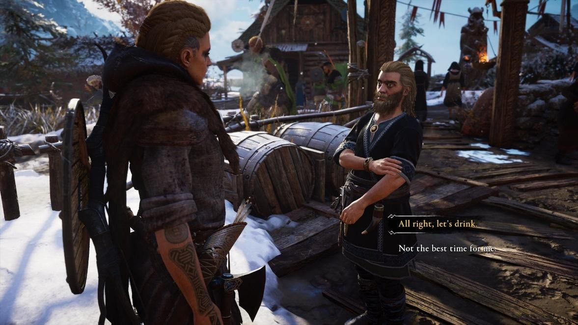 Drinking too much in Assassin's Creed Valhalla can make you rich - Dexerto