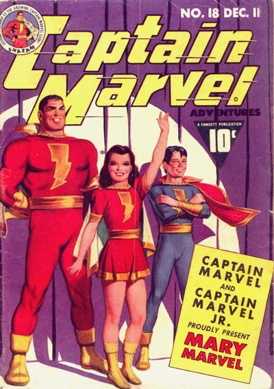Image result for captain marvel adventures 18
