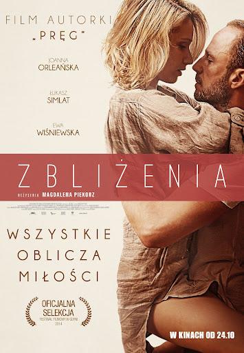 Polski plakat filmu 'Zbliżenia'