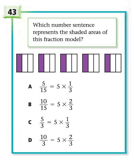 resource released mathematics state test questions