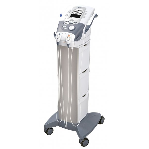 The Intelect XT Therapy System comes in several options, including: 2 or 4 channel e-stim units or upgrade to full combo therapy device (e-stim and ultrasound).