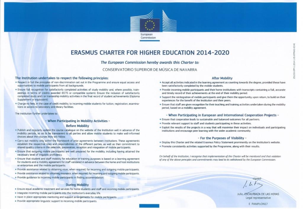 Erasmus Charter