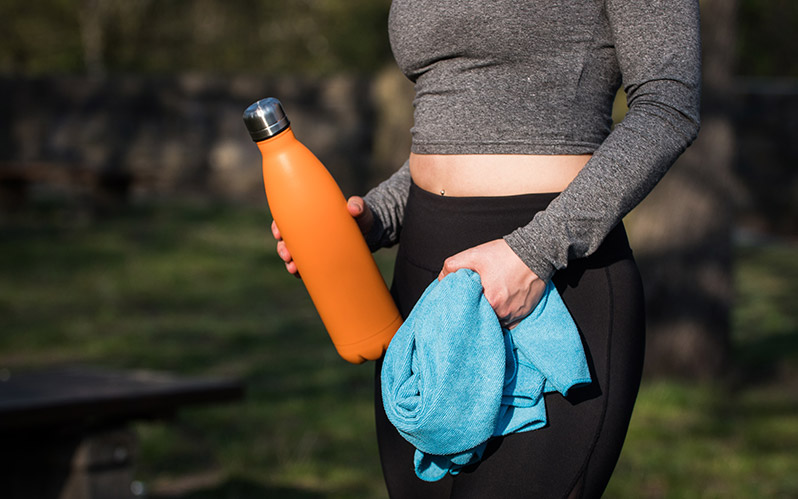 Make sure to drink plenty of water before and after your run.