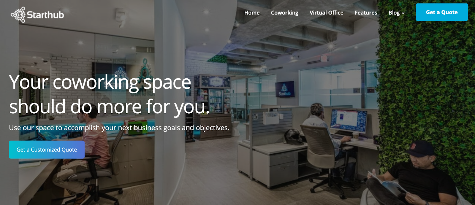 Starthub: Coworking Space for your Business Goals