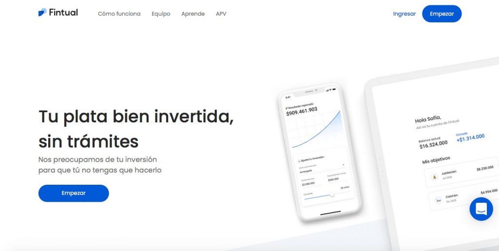 Startups chile Fintual