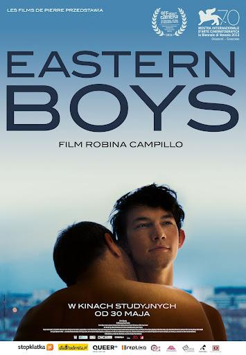 Polski plakat filmu 'Eastern Boys'