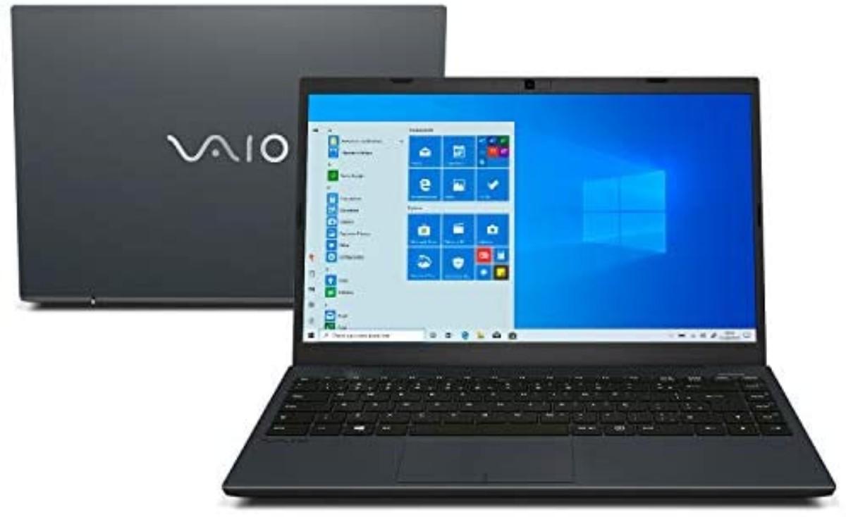 Imagem do Notebook da marca Vaio do Modelo FE 14 Intel core i5