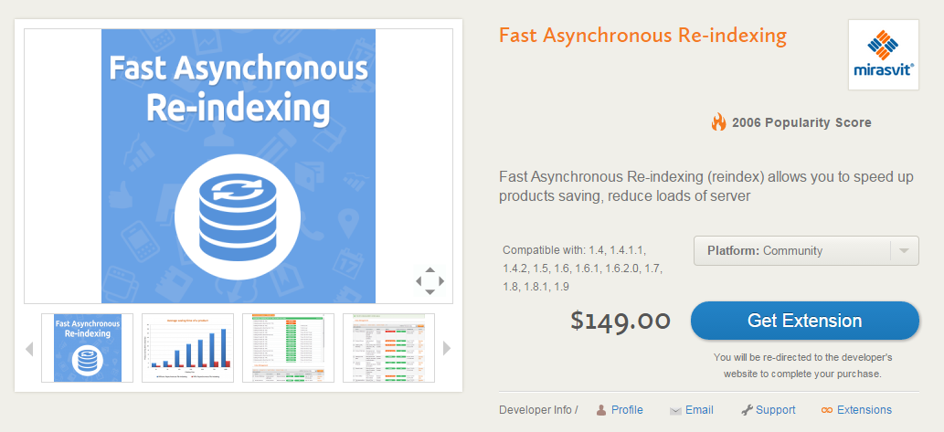 Magento performance improvements: Fast Asynchronous Re-indexing