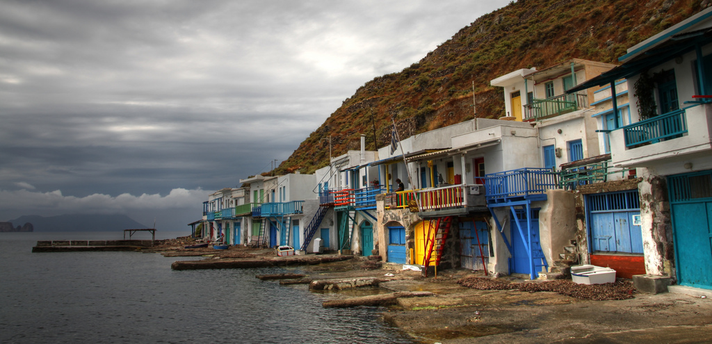 Ancient Village Of Klima