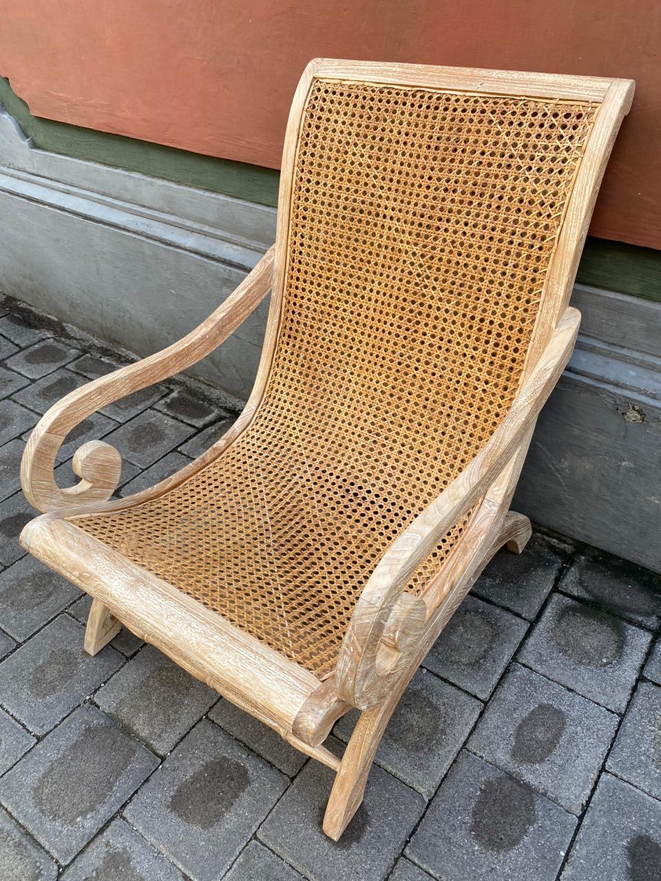 Rattan lazy chair - Kaliuda Gallery Bali