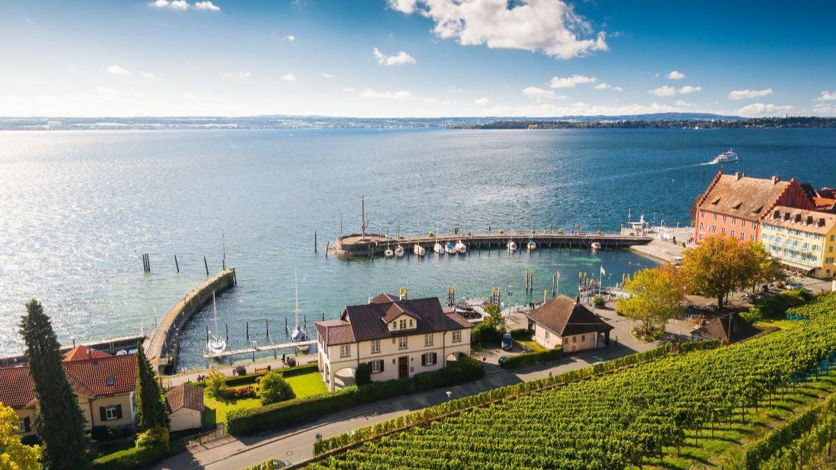 Port de Meersburg, lac de Constance