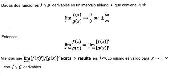 Regla De L 39 Hopital Y Teorema Del Emparedado Calculisto Resúmenes Y Clases De Cálculo