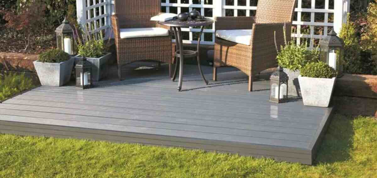 alternative to timber decking in the uk
