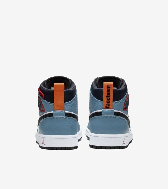 """Air Jordan 1 Mid Fearless FACETASM"" รองเท้า Jordan 1 ที่มีความแตกต่าง 03"