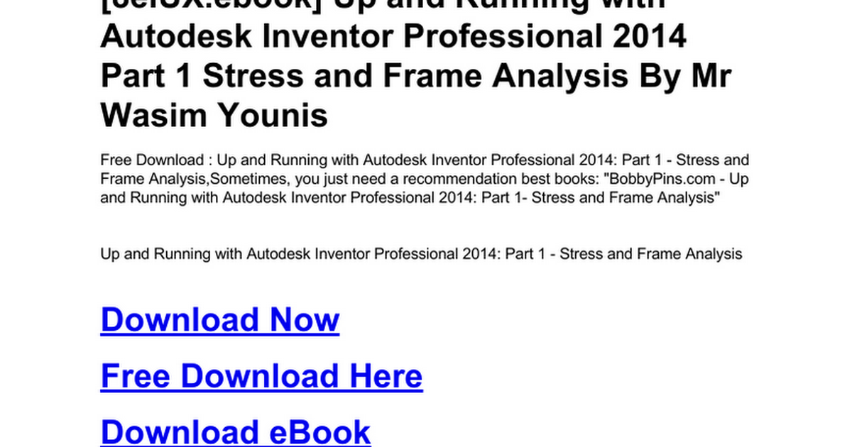 up-and-running-with-autodesk-inventor-professional-2014-part-1
