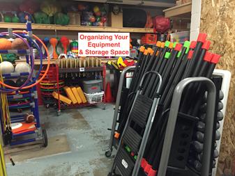 equipment storage room
