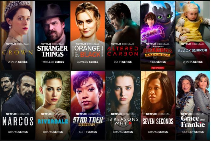 Netflix TV Shows Netflix India Plans