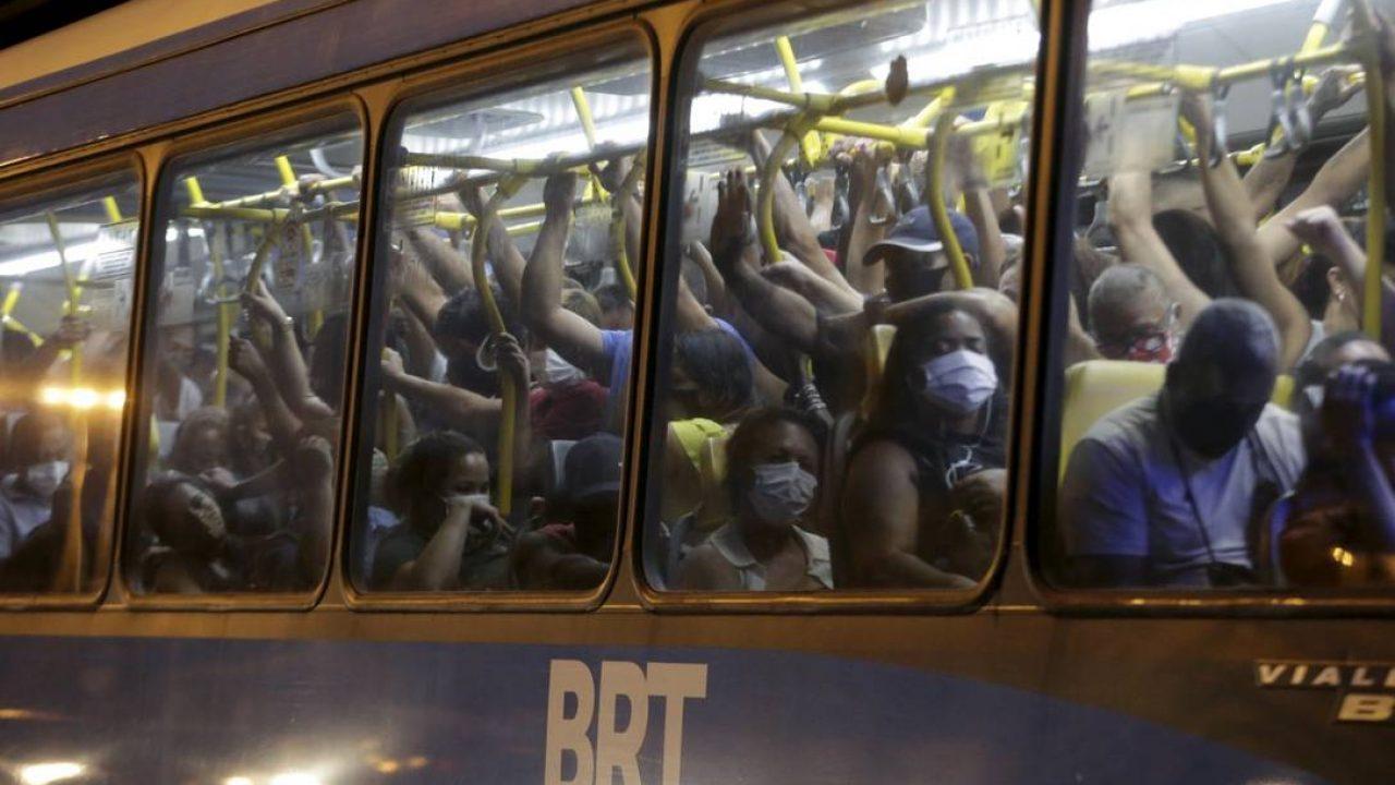 Meios de transporte do RJ justificam lotação nas viagens durante a pandemia  - Diário do Rio de Janeiro