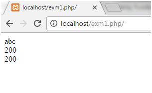 PHP $ और $ $ चर