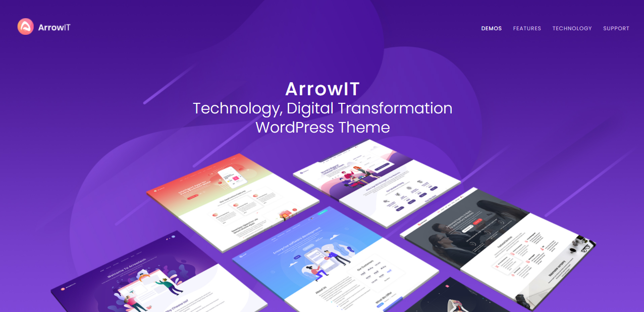 ArrowIT- digital products woocommerce theme