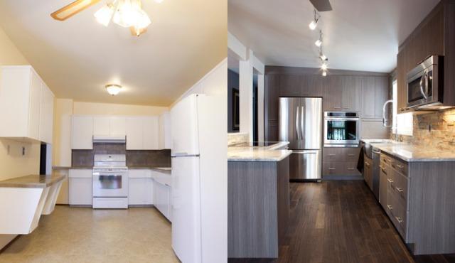 remodeled kitchen for best instagram posts for realtors