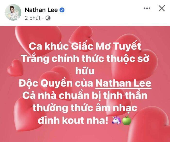 Sau Cao Thái Sơn, đến lượt Thuỷ Tiên bị Nathan Lee mua đứt bản hit đình đám một thời? Ảnh 1