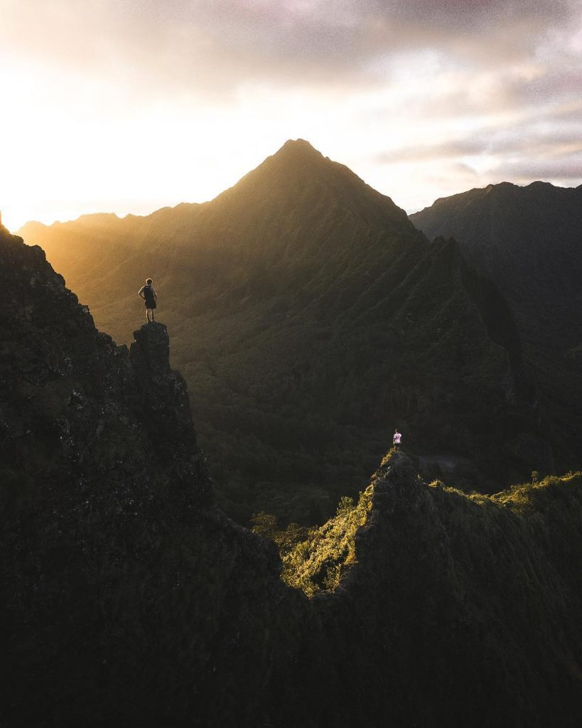 Hike Pali Notches (#13 on 26 best things to do on Oahu)