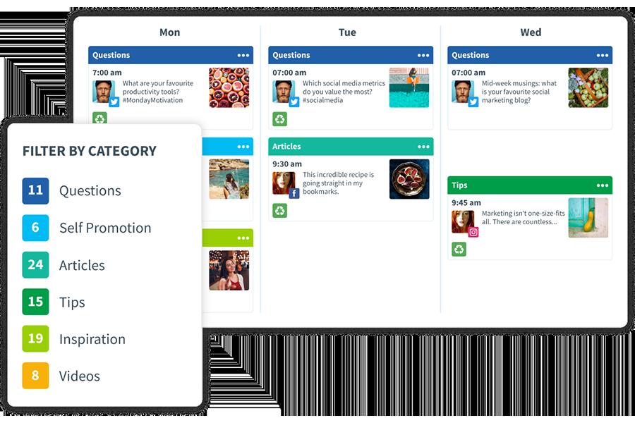 SmarterQuerer - Social Media Scheduler