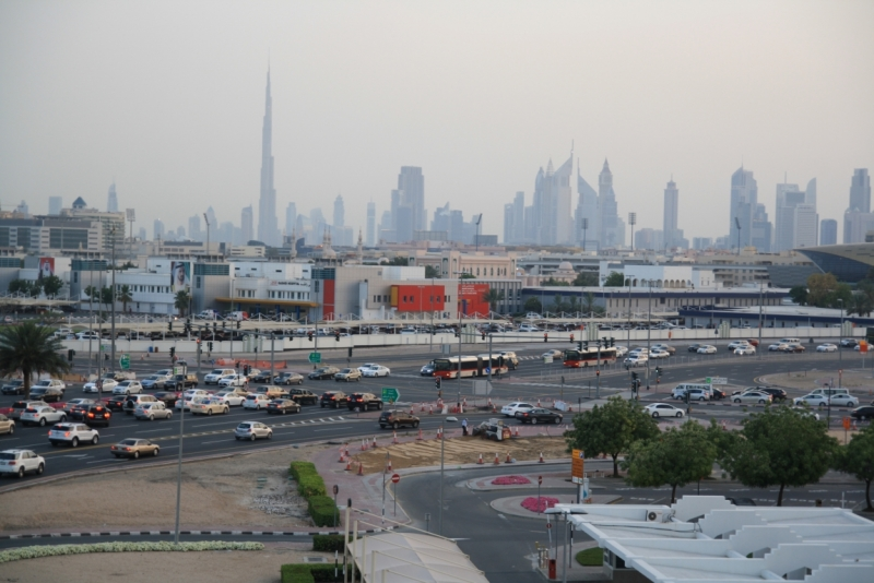 Панорама Дубай