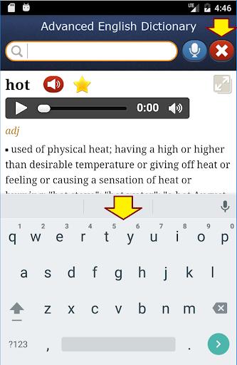 Advanced English NeoDict Pro- screenshot thumbnail