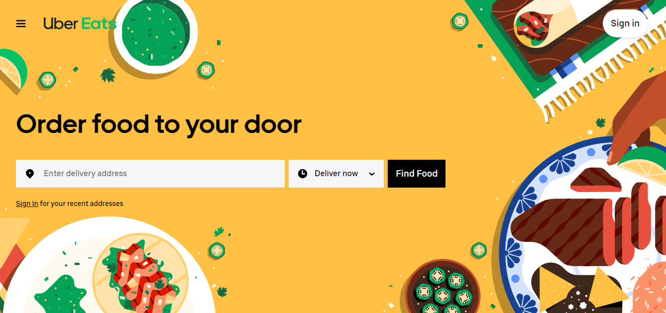 UberEats: how to build a food delivery app?